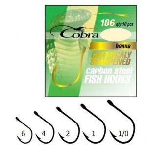 Cobra önglar-Hanna St.2NSB